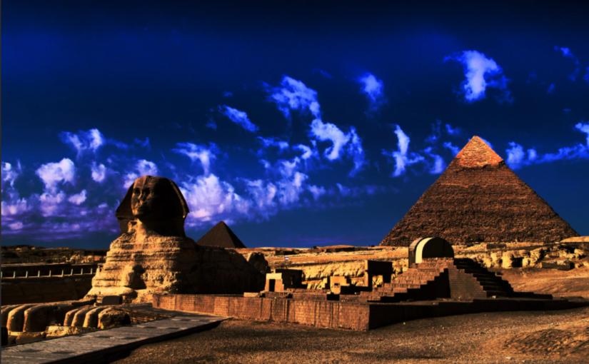 Египетские пирамиды. Тайна создания древних сооружений.